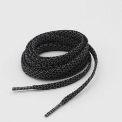 Skosnören - svarta platta