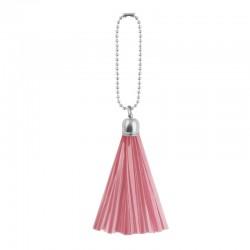 Reflextofs - rosa och silver